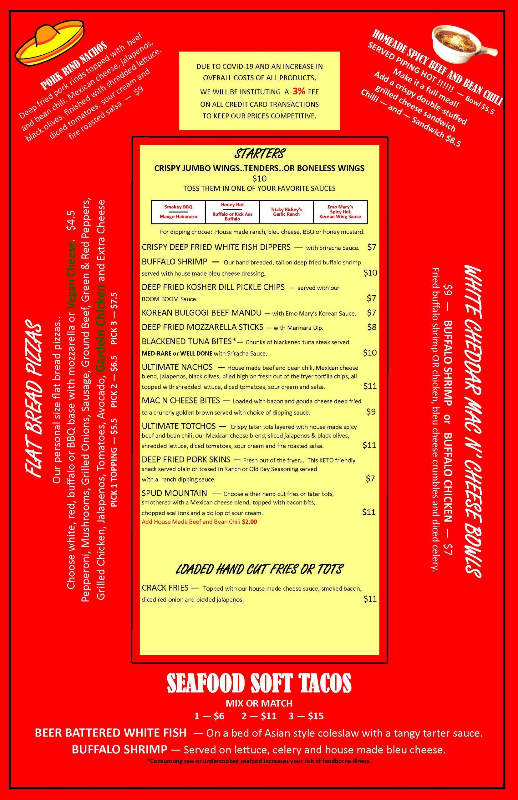 new menu page 1